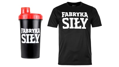 Shaker + koszulka