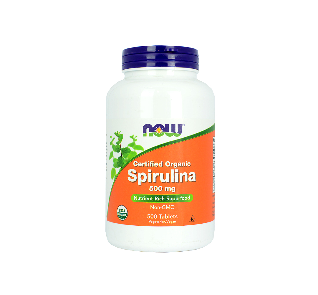 NOW Foods Spirulina - 200tabl.
