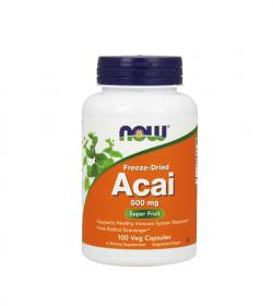 NOW Foods Acai (500 mg) - 100kaps.