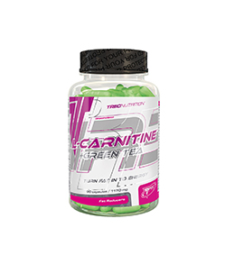 Trec L-Carnitine + Green Tea - 90kaps.