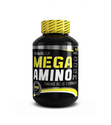 BioTech Mega Amino 3200 - 100tabl.
