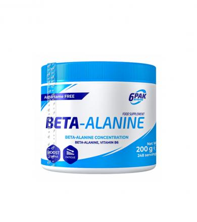 6PAK Nutrition Beta Alanine - 200g