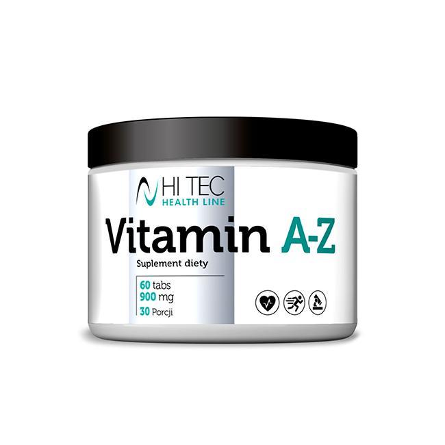 Hi Tec Vitamin A-Z Antioxidant - 60tabl.
