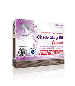 Olimp CHELA-Mag B6 MAMA - 30kaps.