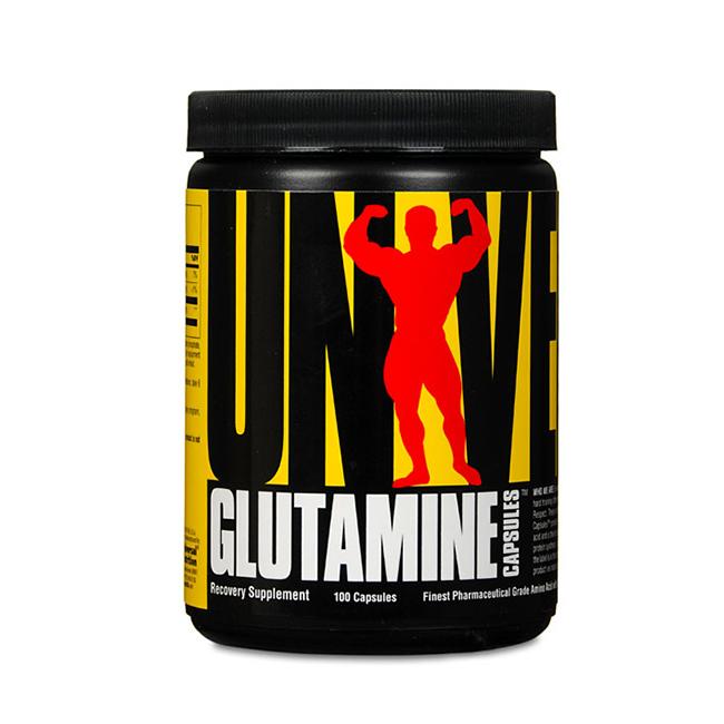 Universal Glutamine - 100kaps.