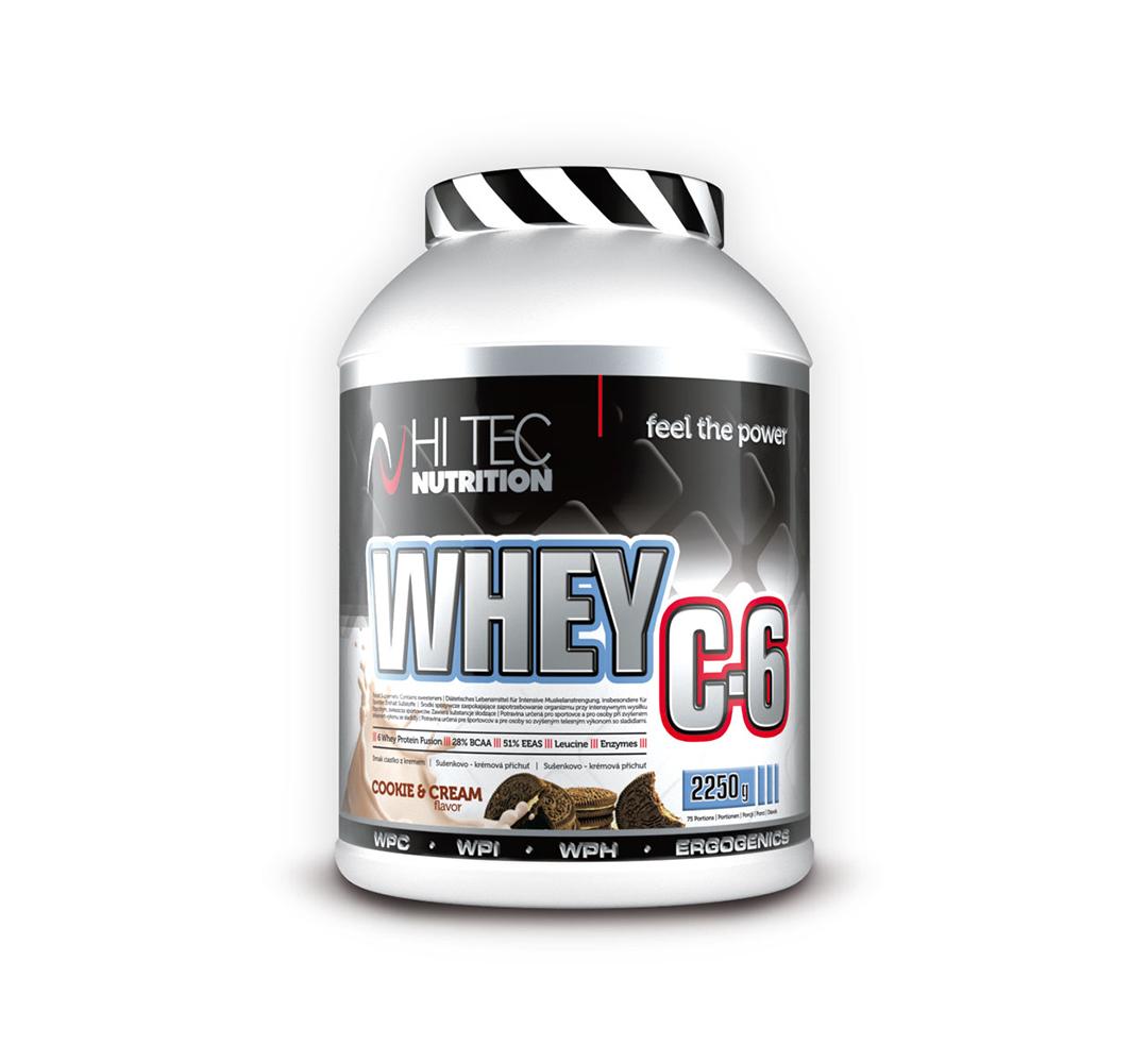 Hi Tec Whey C-6 - 2250 g