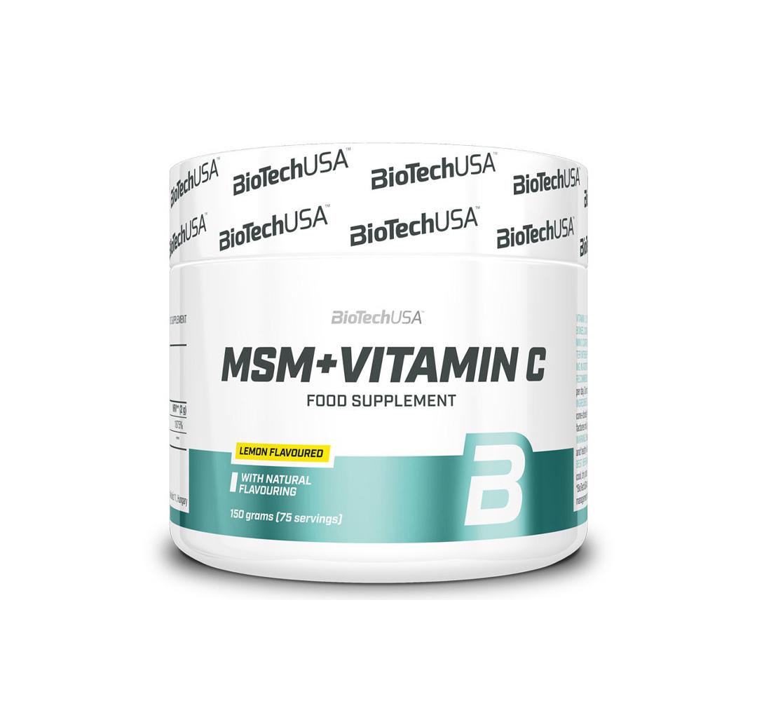 BioTech MSM + Vitamin C - 150g