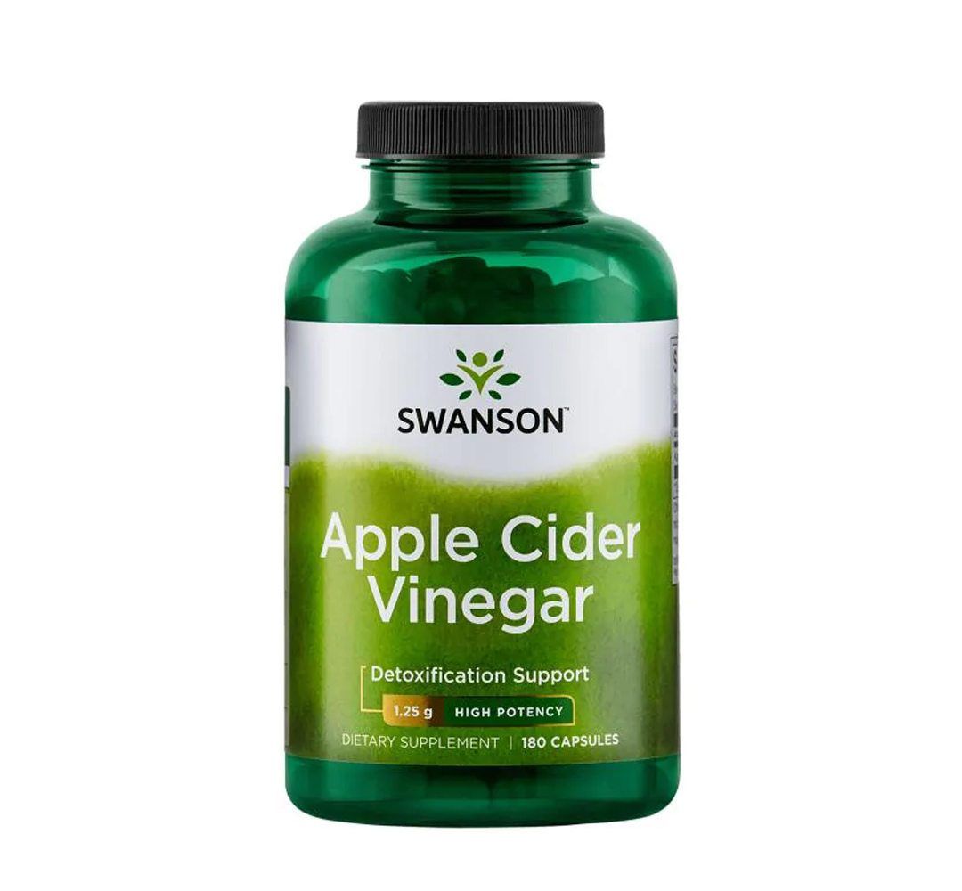 Swanson Apple Cider Vinegar 625mg - 180kaps.