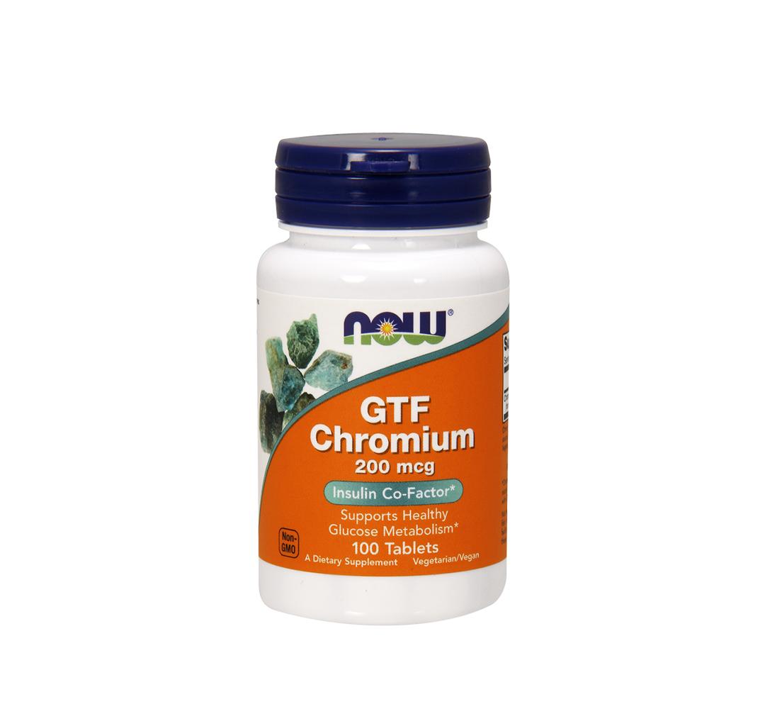 NOW Foods GTF Chromium - 250tabl.