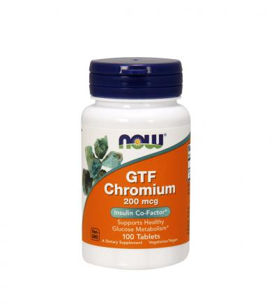 NOW Foods GTF Chromium - 250tabl.