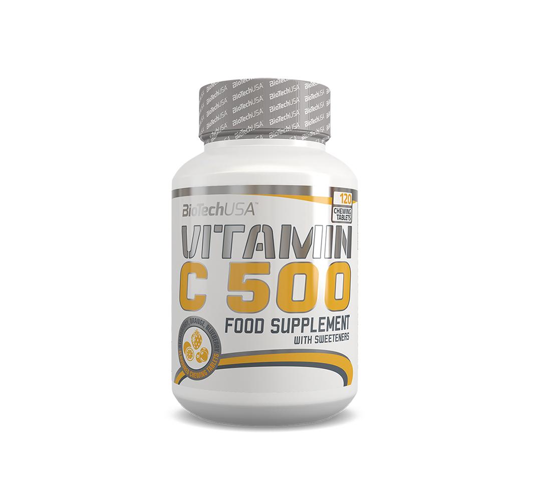BioTech Vitamin C 500 - 120tabl.