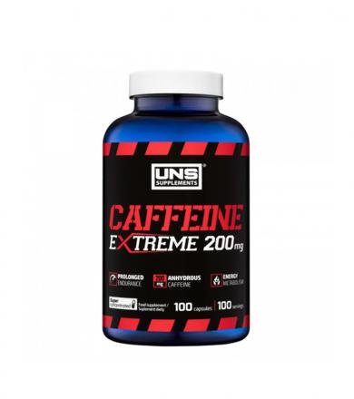 UNS Caffeine 200 mg - 100kaps.