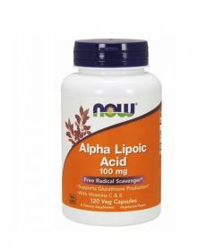 NOW Foods Alpha Lipoic Acid (100mg) - 120kaps.