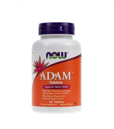 NOW Foods Adam - 60tabl.