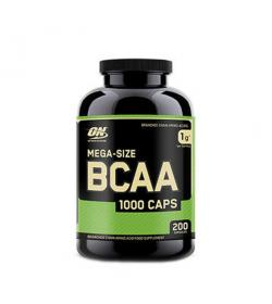 Optimum Nutrition BCAA 1000 - 200kaps.