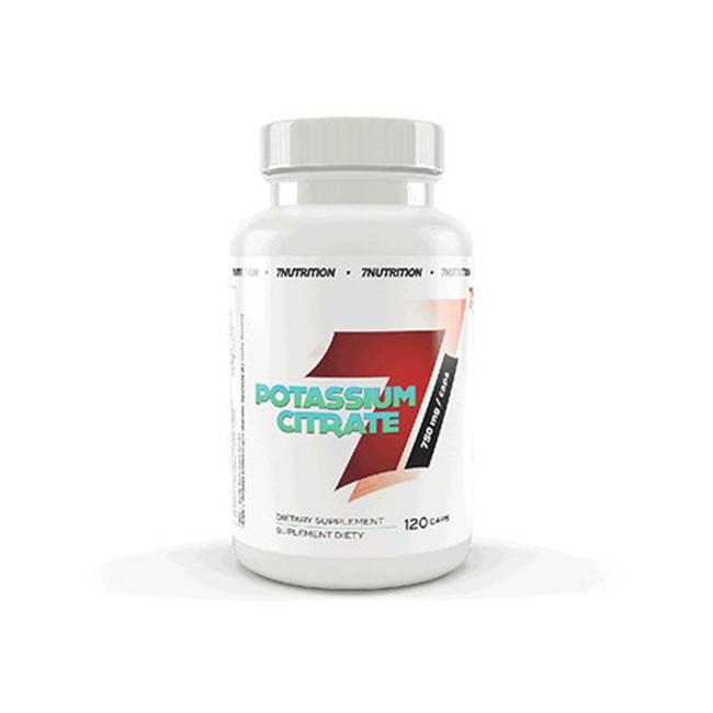 7Nutrition Potassium Citrate - 120kaps.
