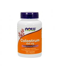 NOW Foods Colostrum (500mg) - 120kaps.