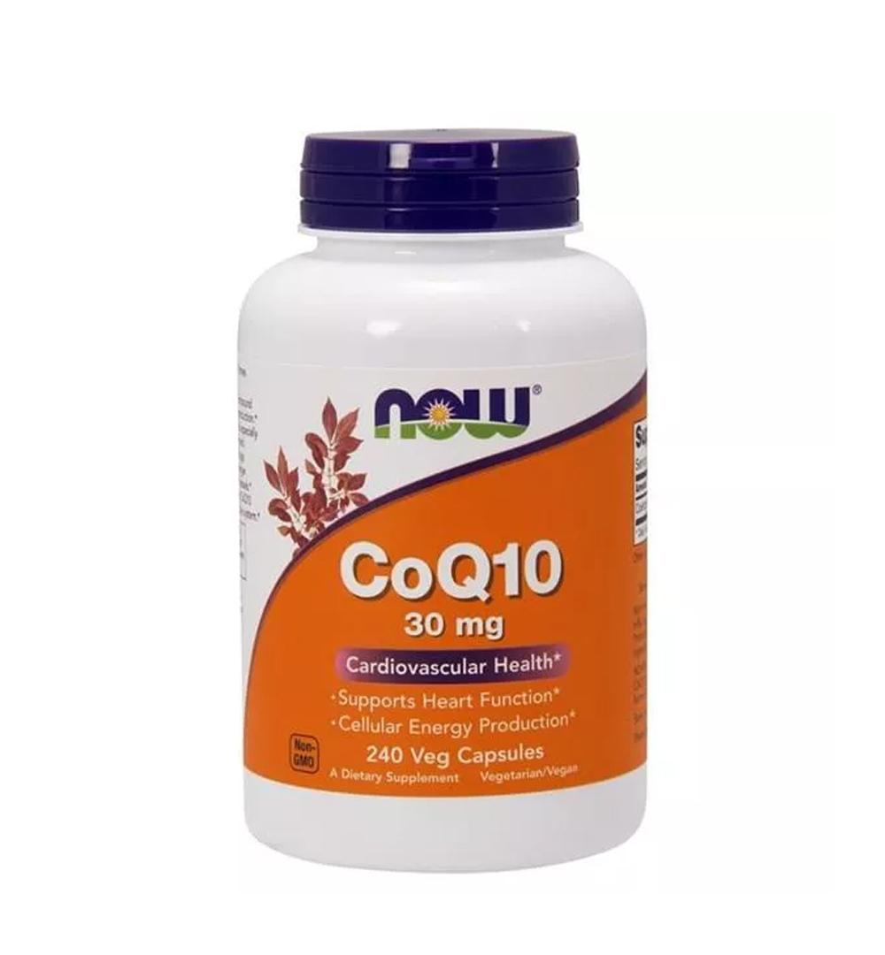 NOW Foods Coenzyme Q10 30mg - 240kaps.