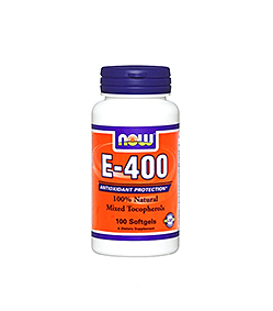 Now Foods Vitamin E-400 - 100kaps.
