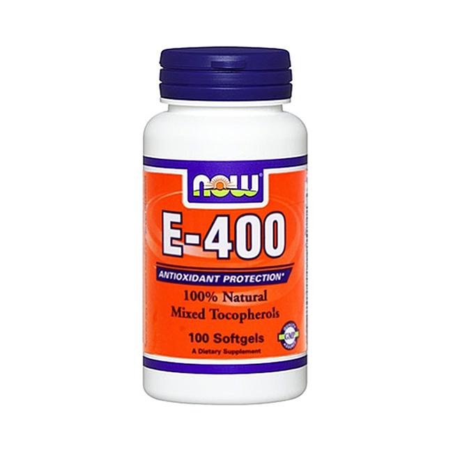 Now Foods Vitamin E-400 - 100kaps.