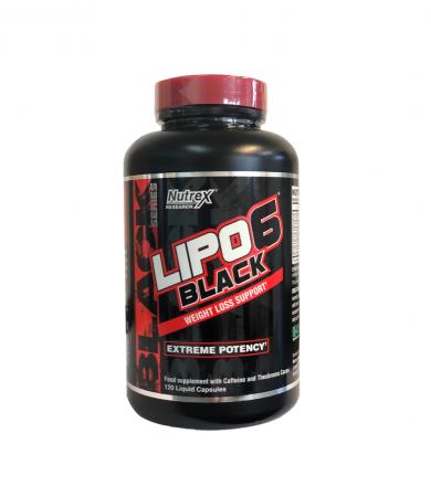 Nutrex Lipo-6 Black - 120kaps.