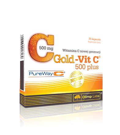 Olimp Gold Vit-C 500 Plus - 30kaps.