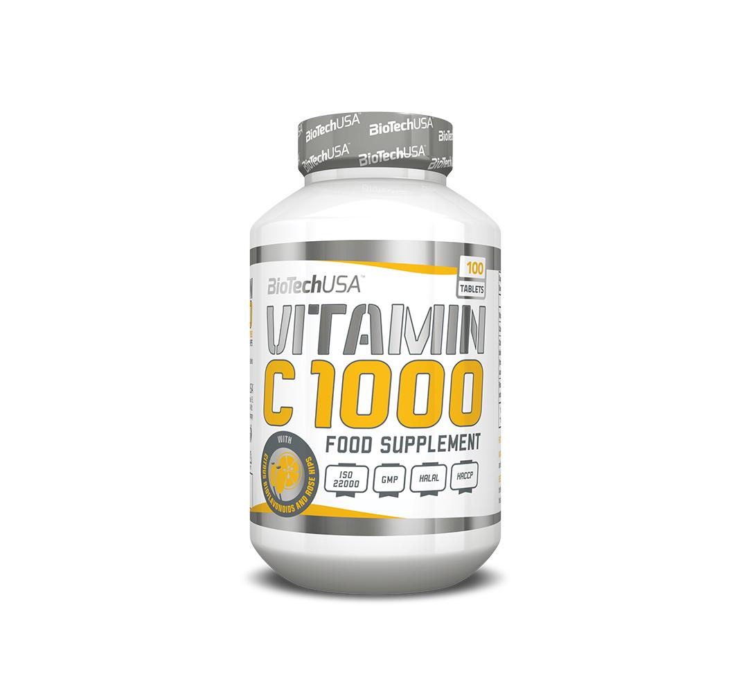 BioTech Vitamin C 1000 - 100tabl.