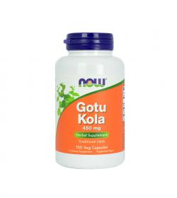 NOW Foods Gotu Kola (450mg) - 100kaps.