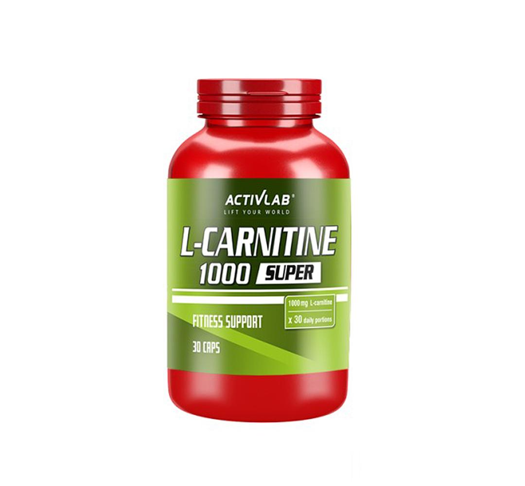 Activlab L-Carnitine 1000 - 30kaps.