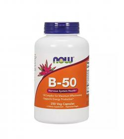 NOW Foods Vitamin B-50 - 250kaps.