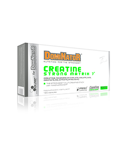 Olimp Dominator Creatine Strong Matrix 7 - 120 kaps.
