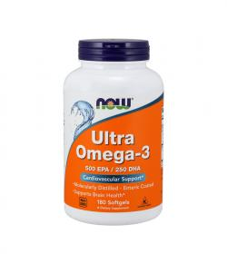 NOW Foods Ultra Omega-3 - 180 kaps.