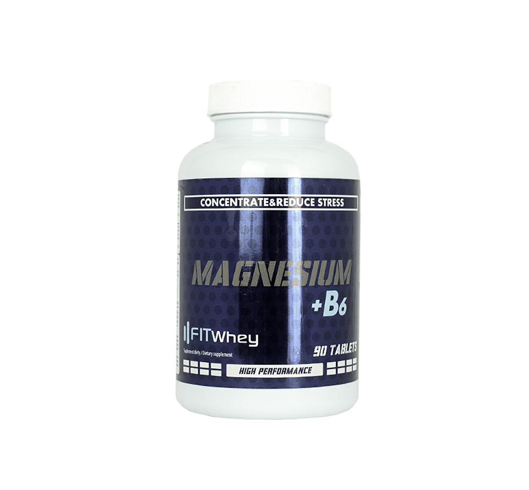 FitWhey Magnesium + B6 - 90tabl.
