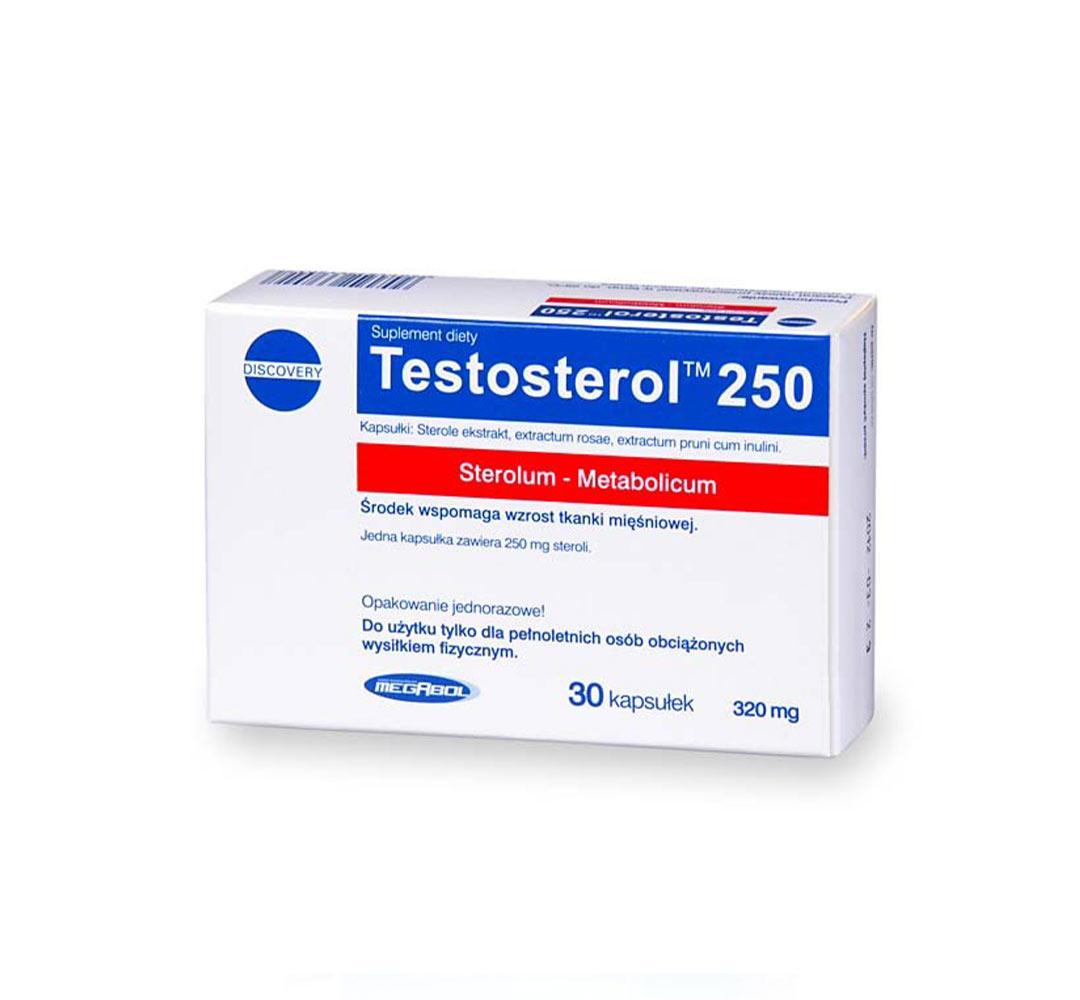 Megabol Testosterol 250 - 30kaps.
