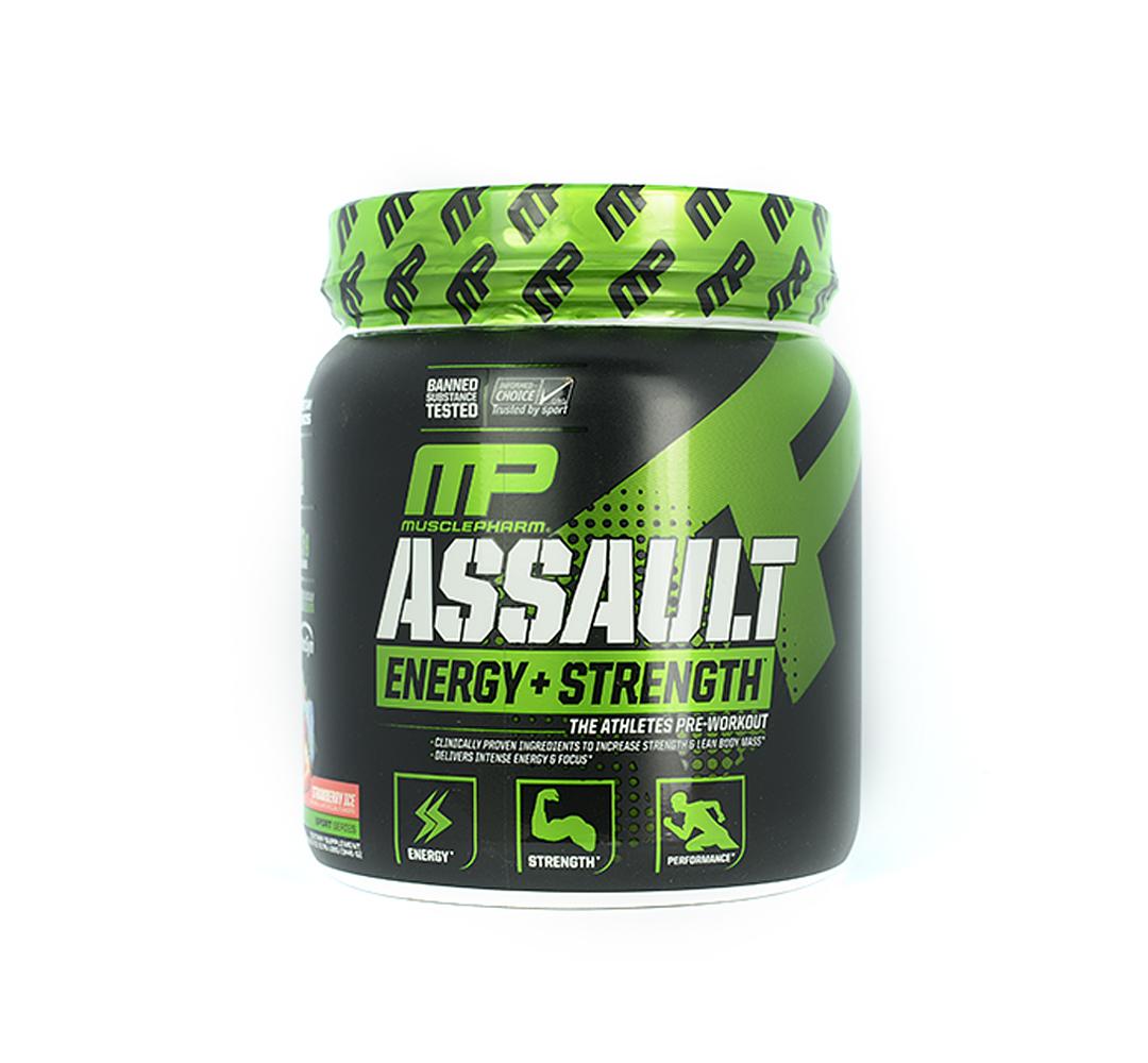 MusclePharm Assault Energy + Strenght - 333-345g