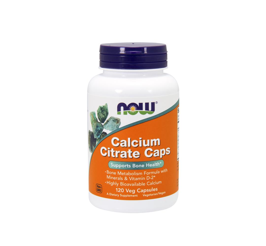 NOW Foods Calcium Citrate Plus - 120kaps.