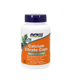 NOW Foods Calcium Citrate Plus - 120kaps.