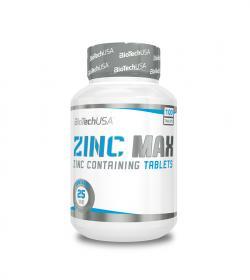 BioTech Zinc Max - 100tabl.