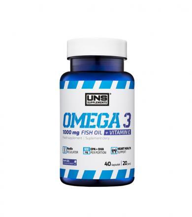 UNS Omega 3 - 40kaps.