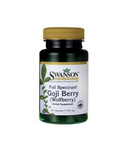 Swanson Goji Full Spectrum 500mg - 60 kaps.