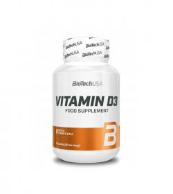 BioTech Vitamin D3 - 60tabl.