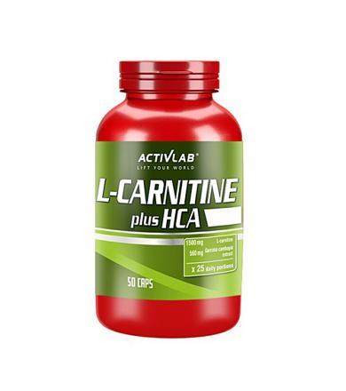 Activlab L-Carnitine HCA Plus - 50kaps.