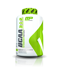 MusclePharm BCAA 3:1:2 - 240kaps.