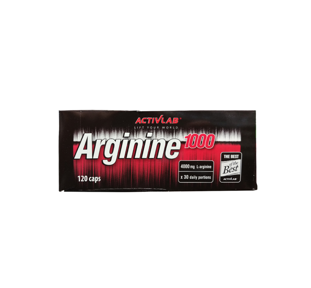 Activlab Arginine 1000 - 120kaps.
