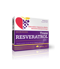 Olimp Trans Resveratrol 200+ - 30kaps.