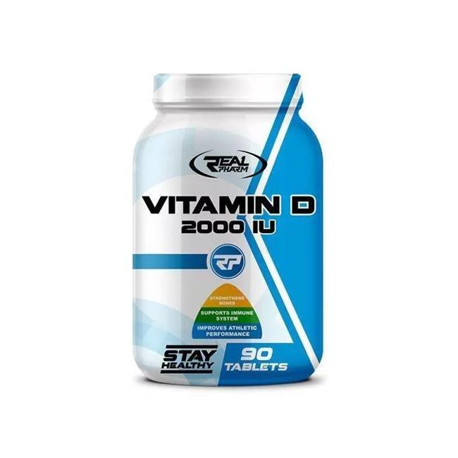Real Pharm Vitamin D - 90tabl.
