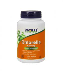 NOW Foods Chlorella 1000 mg - 120tabl.