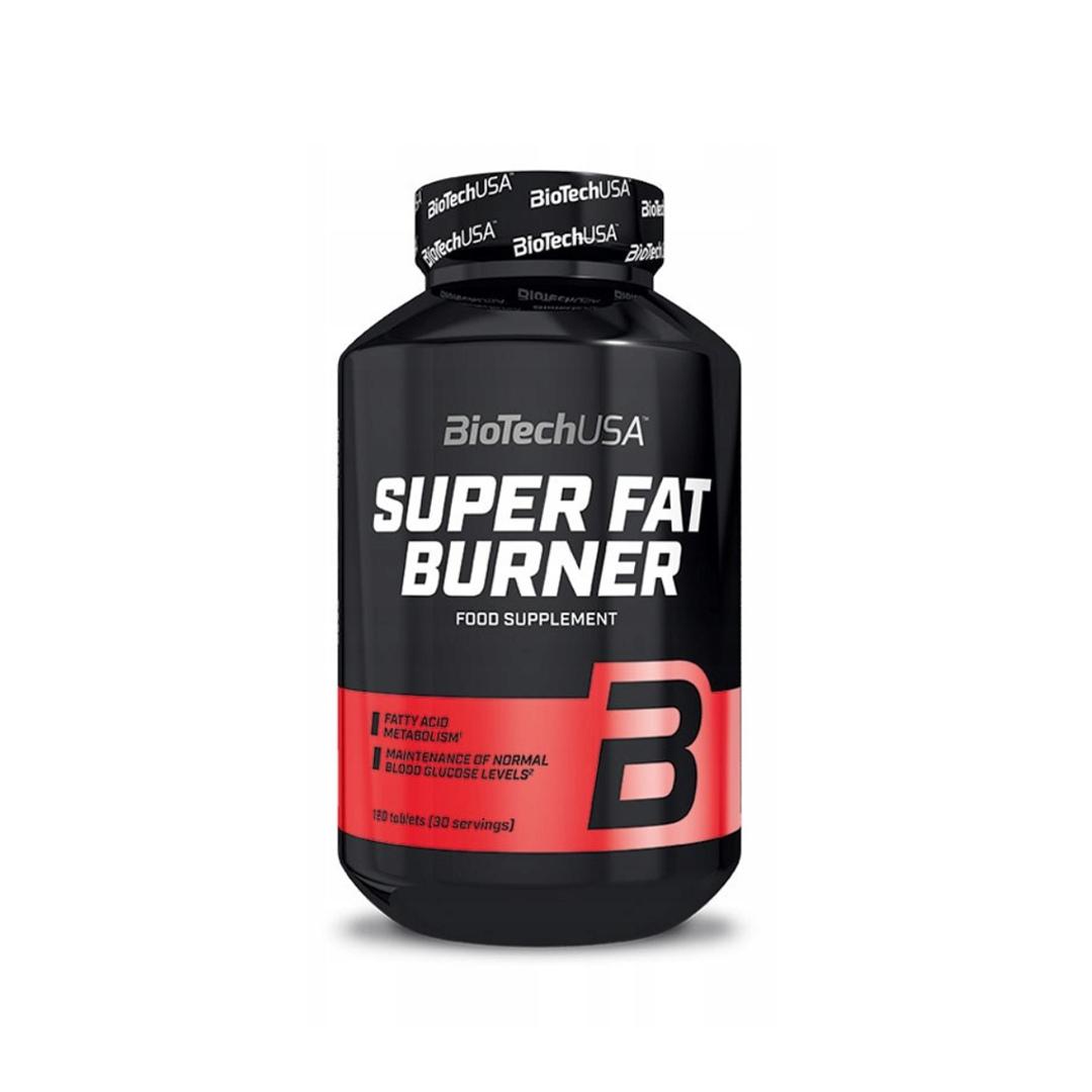 BioTech Super Fat Burner - 120tabl.