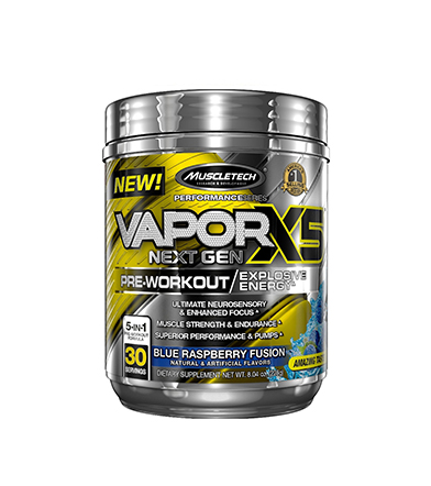 MuscleTech Vapor X5 Next Gen Pre-Workout - 228 -232g