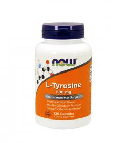 NOW Foods L-Tyrosine - 120 kaps.